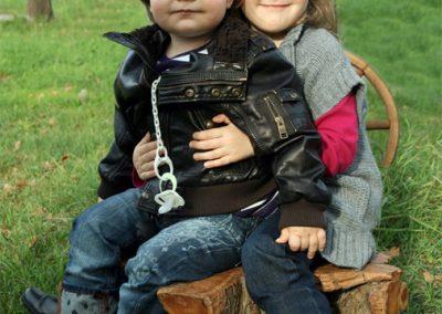 Kindergarten-Geschwister