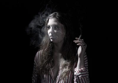 Rauchen-Portrait