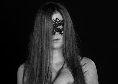 Maske-Portrait